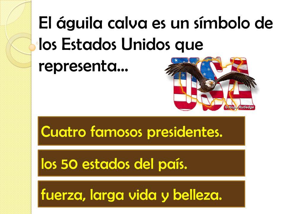 La Estatua de la Libertad es _________ de los Estados Unidos que representa libertad. un candidato un símbolo una brújula