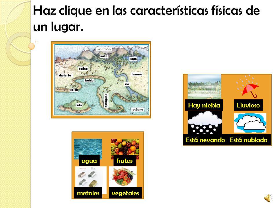Práctica de vocabulario Tercer grado ¿Cuál es la geografía de mi comunidad?