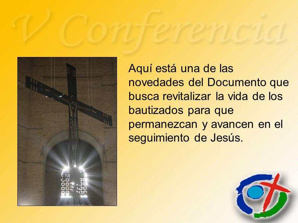 Aquí está una de las novedades del Documento que busca revitalizar la vida de los bautizados para que permanezcan y avancen en el seguimiento de Jesús
