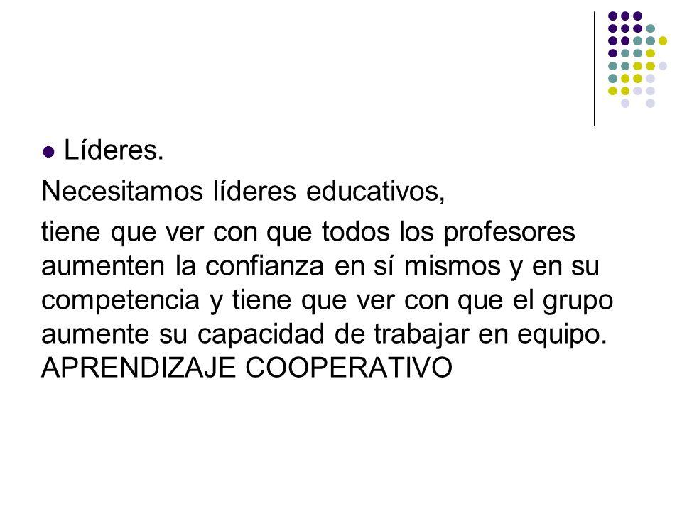 Profesionalización.