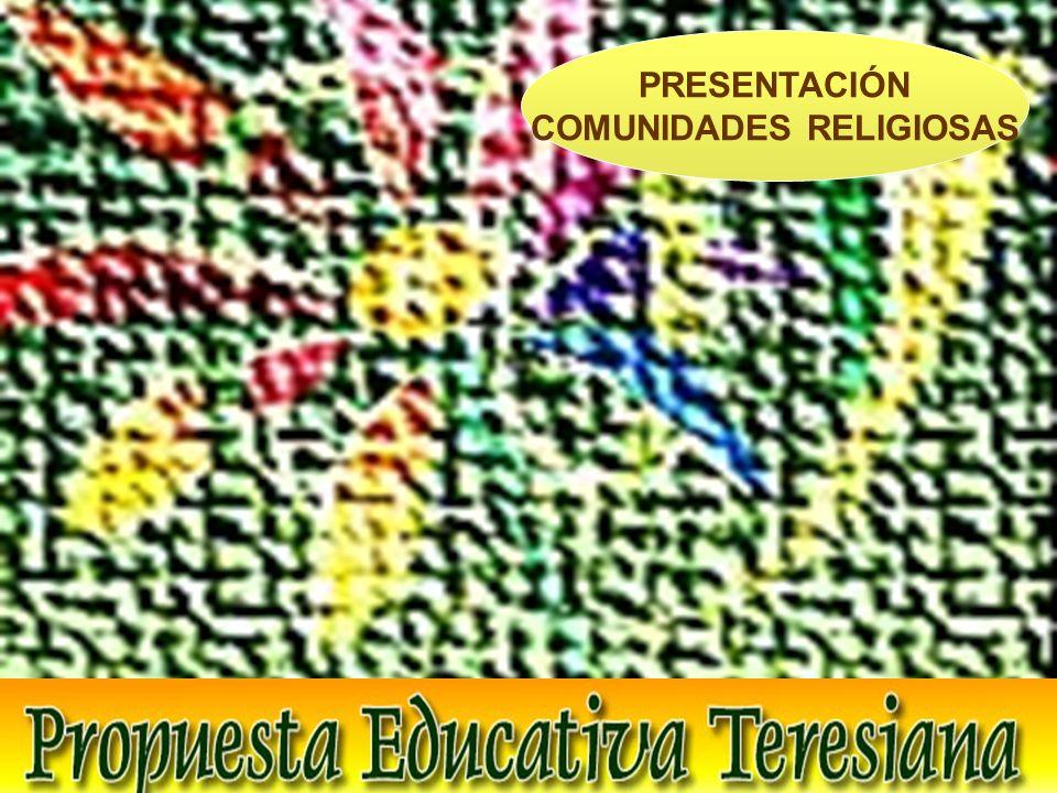PRESENTACIÓN COMUNIDADES RELIGIOSAS
