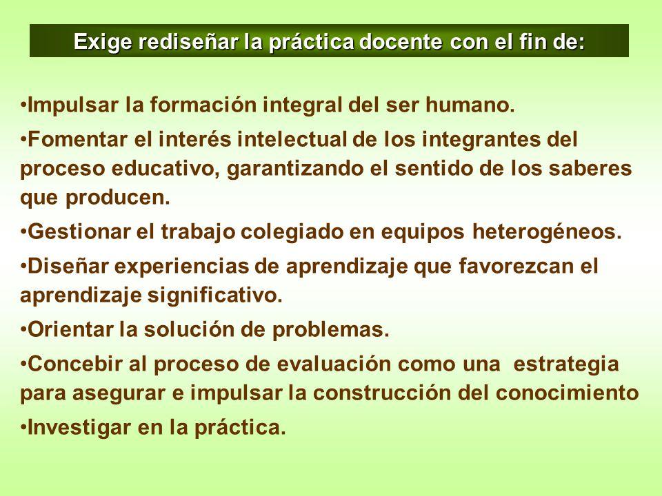 Impulsar la formación integral del ser humano. Fomentar el interés intelectual de los integrantes del proceso educativo, garantizando el sentido de lo
