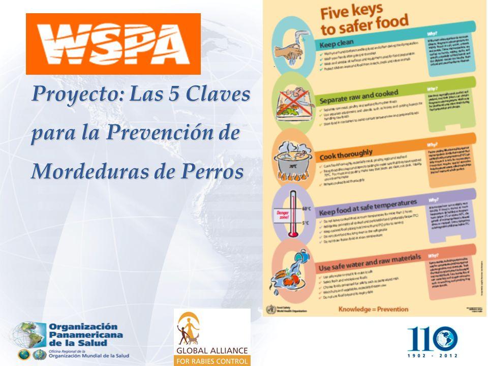 Proyecto: Las 5 Claves para la Prevención de Mordeduras de Perros