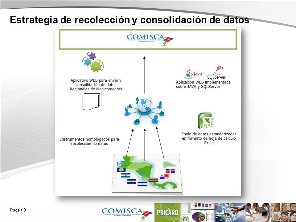 Page 3 Estrategia de recolección y consolidación de datos