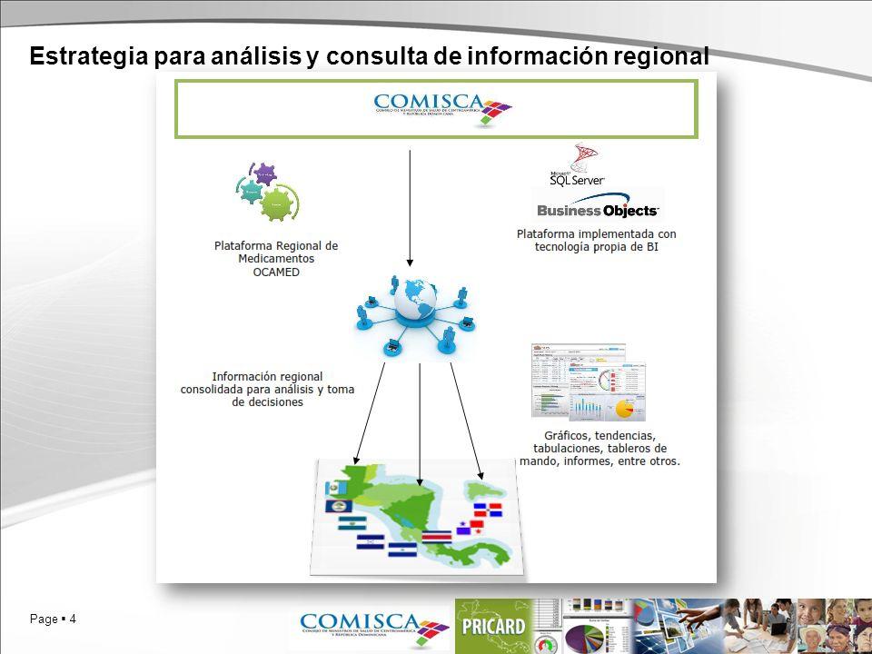 Page 4 Estrategia para análisis y consulta de información regional