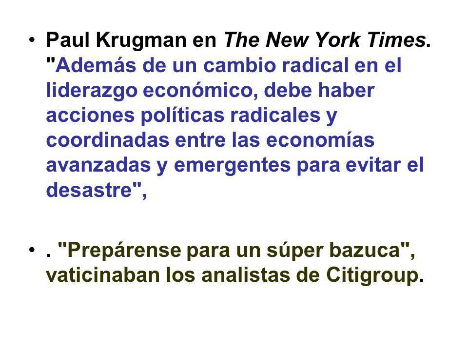Paul Krugman en The New York Times.