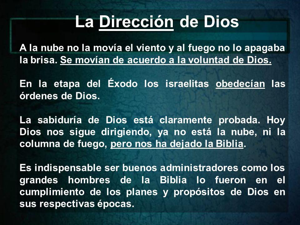 Dios nos guía en los grandes desiertos y controla nuestra vida.