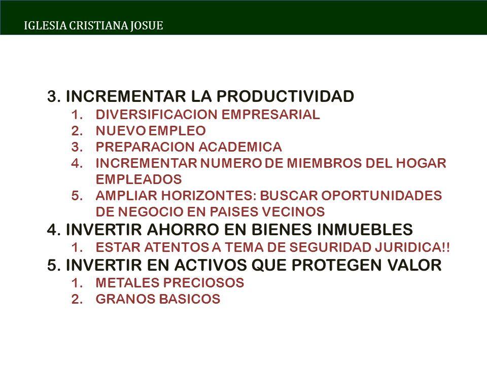 IGLESIA CRISTIANA JOSUE 3.