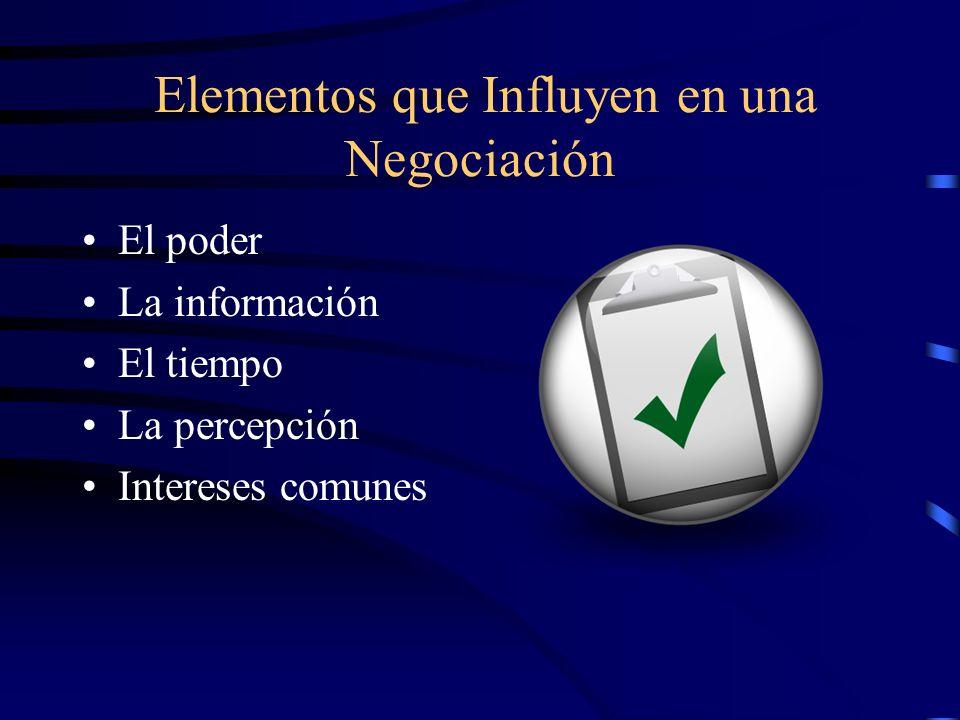 Criterios de Evaluación Todo método de negociación debe evaluarse en los siguientes criterios.