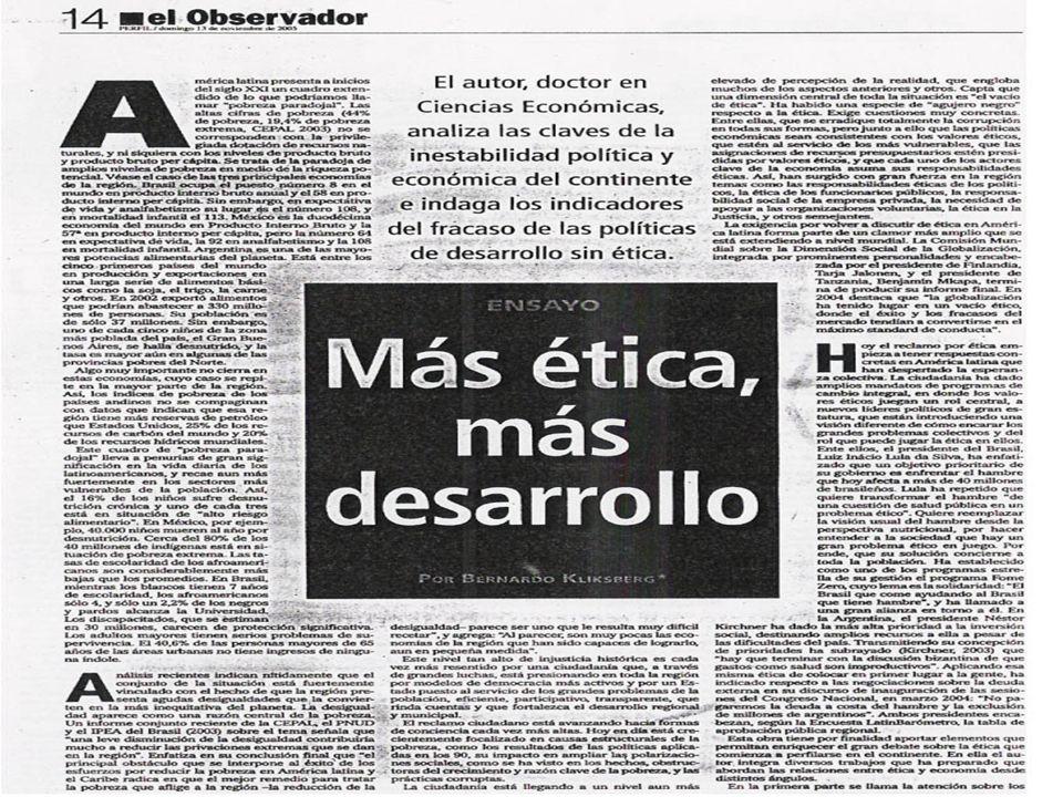 ¿ CUAL ES EL CAMINO A UNA ETICA DE FONDO Y NO DE FORMA.