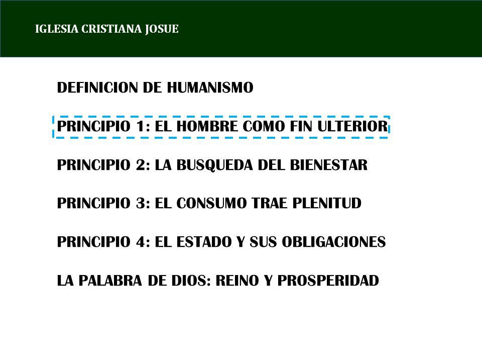 IGLESIA CRISTIANA JOSUE EL ENORME PROBLEMA SE ORIGINA CUANDO EL ESTADO SE CONVIERTE EN UN FIN EN SI MISMO.