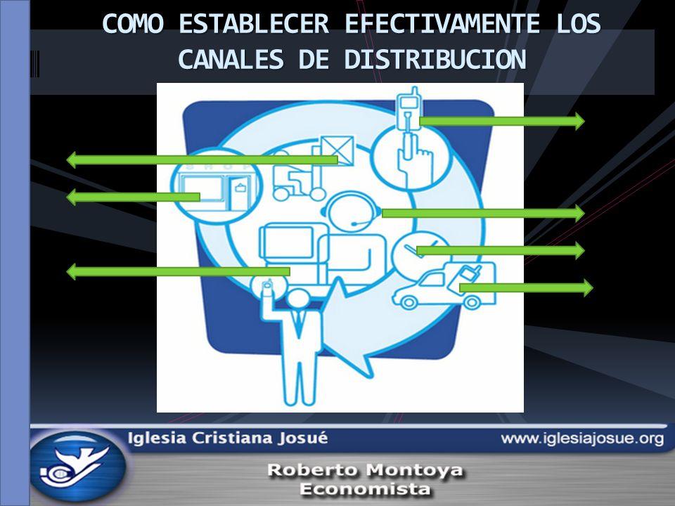 I- CONCEPTOS GENERALES II- ACTORES EN LOS CANALES DE DISTRIBUCION