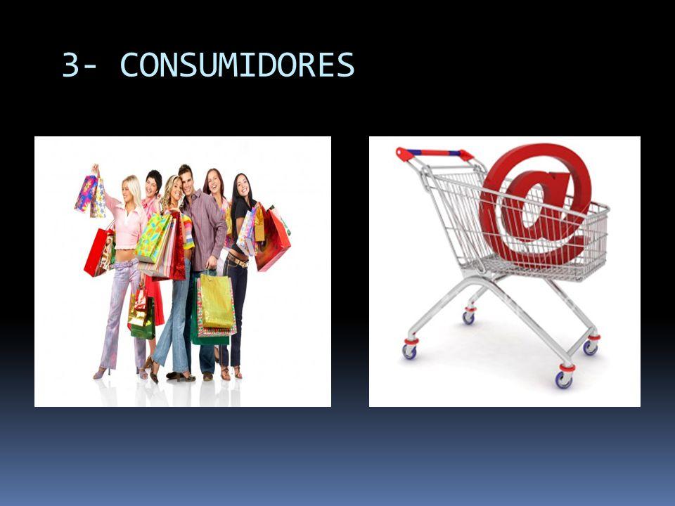 3- CONSUMIDORES
