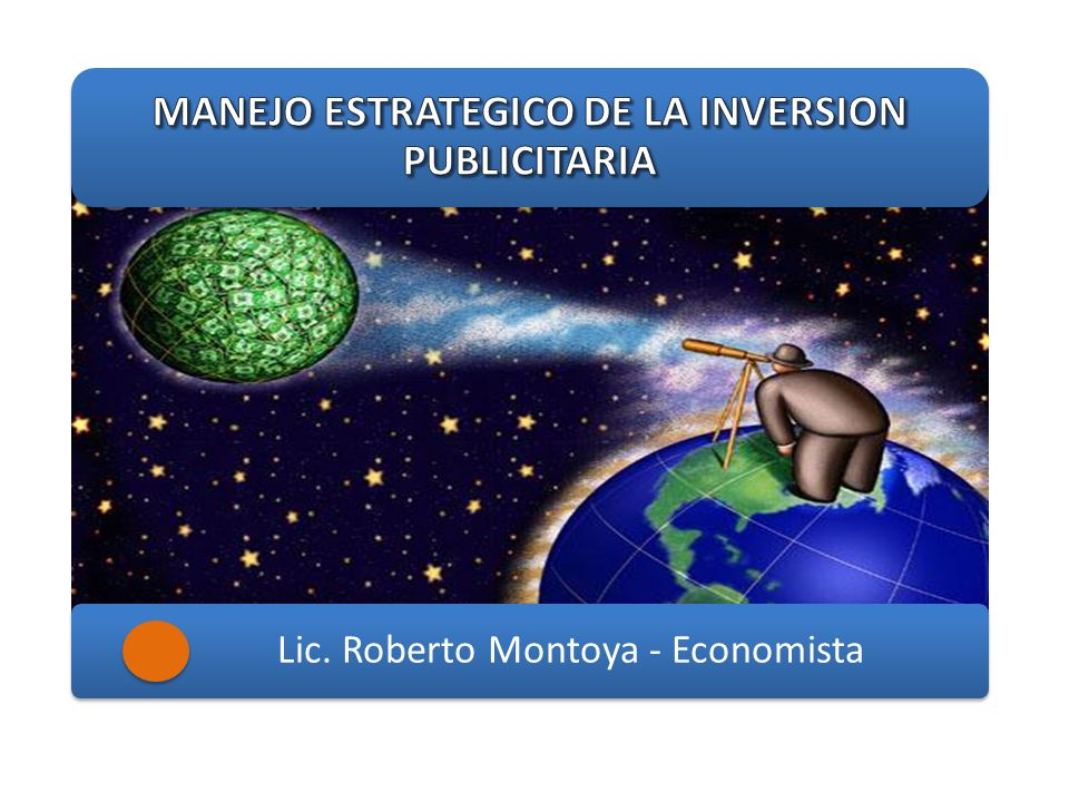 Lic. Roberto Montoya - Economista