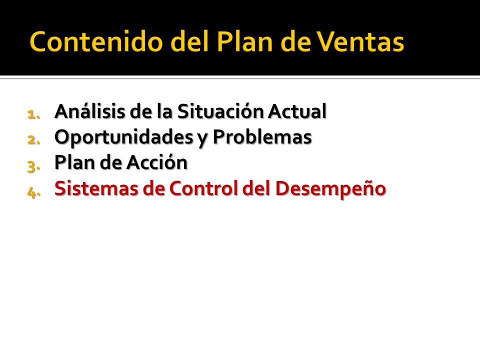 1. Análisis de la Situación Actual 2. Oportunidades y Problemas 3. Plan de Acción 4. Sistemas de Control del Desempeño