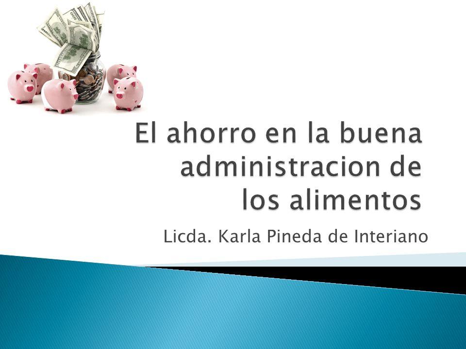 Licda. Karla Pineda de Interiano