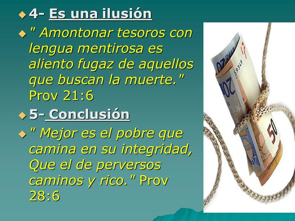 4- Es una ilusión 4- Es una ilusión