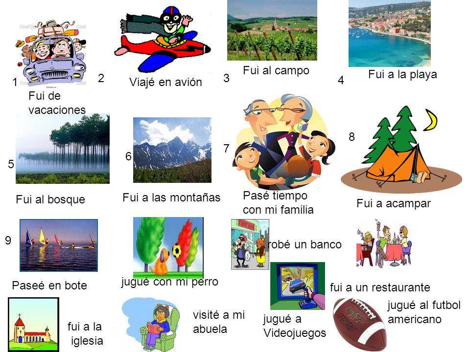 Español 2, clase 27 Los objetivos de hoy:- ______________________________ ______________________________ ______________________________ Nombre:________________________ Clase:________ Fecha:____________________________ Nuestros fines de semana Verbos -ARVerbos -ERVerbos -IR Verbos regulares Nombre¿Cómo fue tu fin de semana?¿Qué hiciste?Nombre¿Cómo fue tu fin de semana.