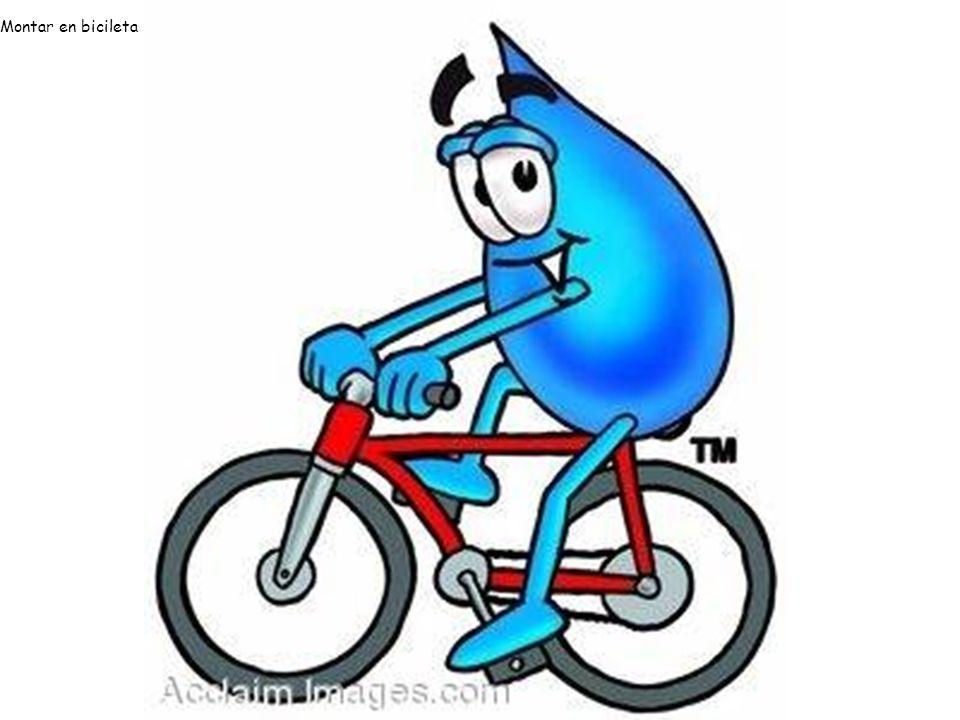 Montar en bicileta