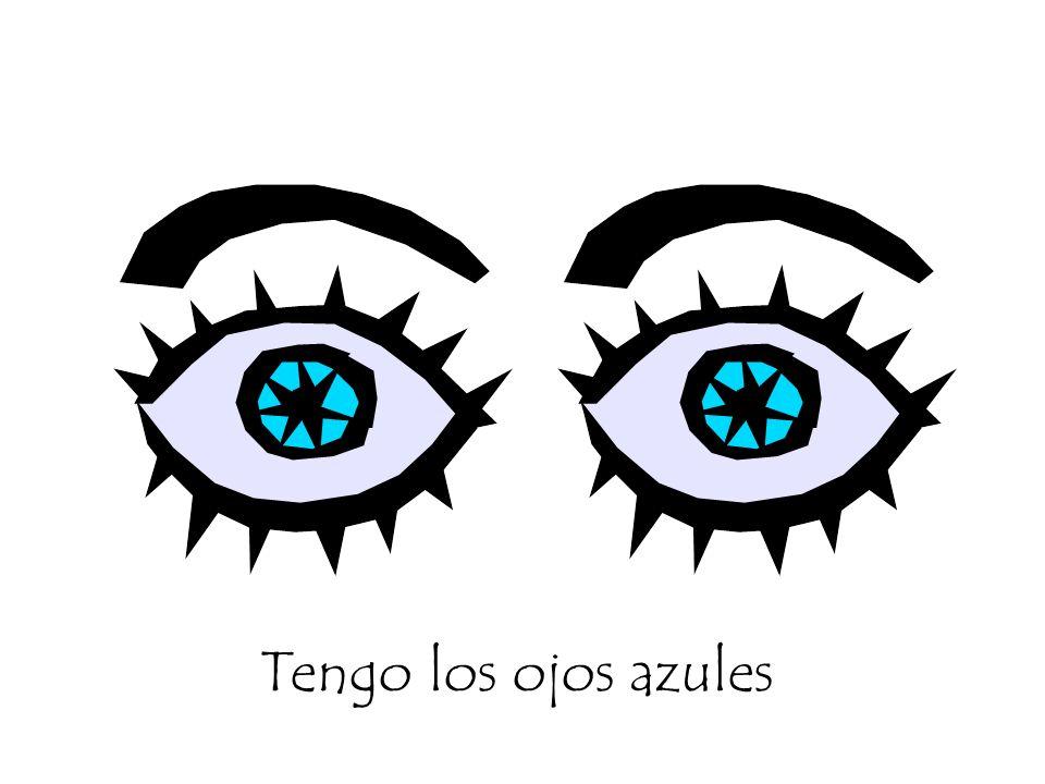Tengo los ojos azules