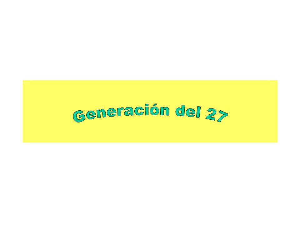 Concepto de generación Tienen aproximadamente la misma edad.
