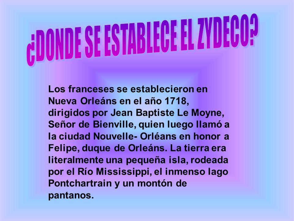 Los franceses se establecieron en Nueva Orleáns en el año 1718, dirigidos por Jean Baptiste Le Moyne, Señor de Bienville, quien luego llamó a la ciuda
