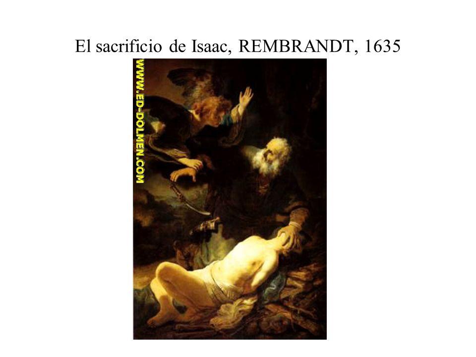 El sacrificio de Isaac, REMBRANDT, 1635