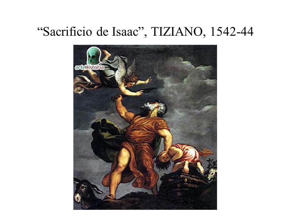 Sacrificio de Isaac, TIZIANO, 1542-44