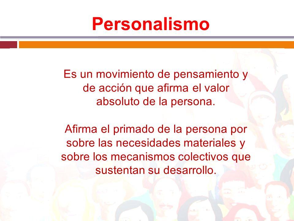Persona como ser encarnado Persona es: integración, comunicación, compromiso, donación.