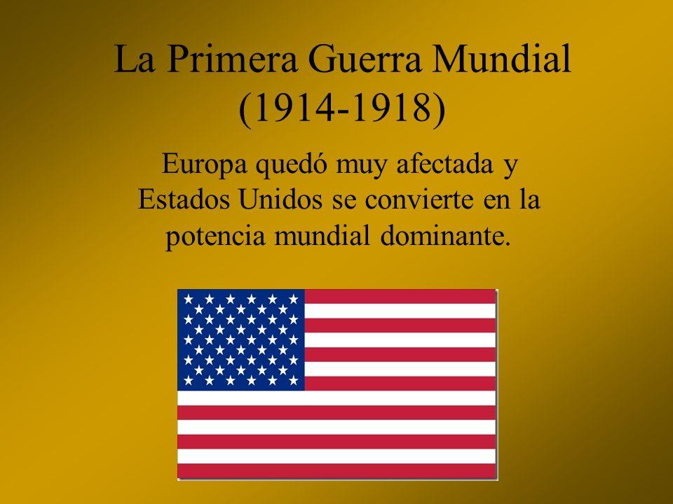 La Segunda Guerra Mundial (1939-1945) Se forman tres grandes polos económicos: Estados Unidos, Japón y Europa Occidental.