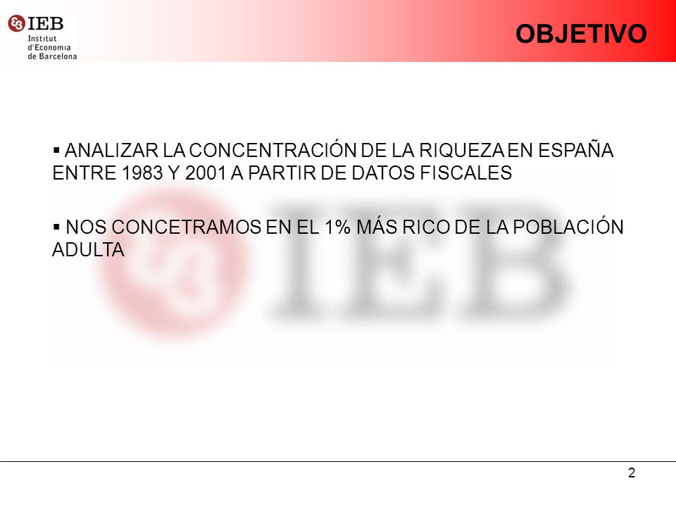 13 ÁNÁLISIS DE LA CONCENTRACIÓN Source: Durán and Esteller (2007) VALOR DECLARADO Y VALOR REAL PARA EL 1% MÁS RICO