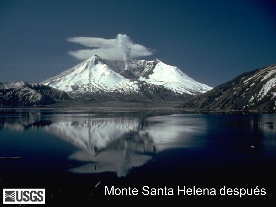 Algunos procesos que cambian la Tierra Volcán Desprendimiento Terremoto