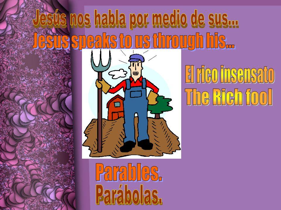 1.Un hombre rico es bendecido grandemente con su cosecha.