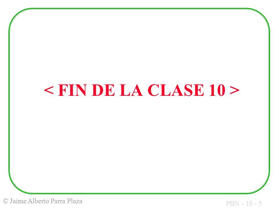 PBN - 10 - 5 © Jaime Alberto Parra Plaza