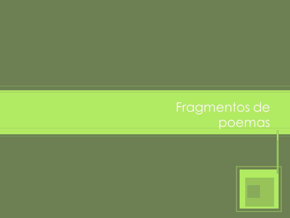 Poesía Prosa y poesía (Vamos a contar y a cantar)Lengua castellana y literatura Poema de Pedro Calderón de la Barca Cuentan de un sabio, que un día tan pobre y mísero estaba, que sólo se sustentaba de unas yerbas que cogía.