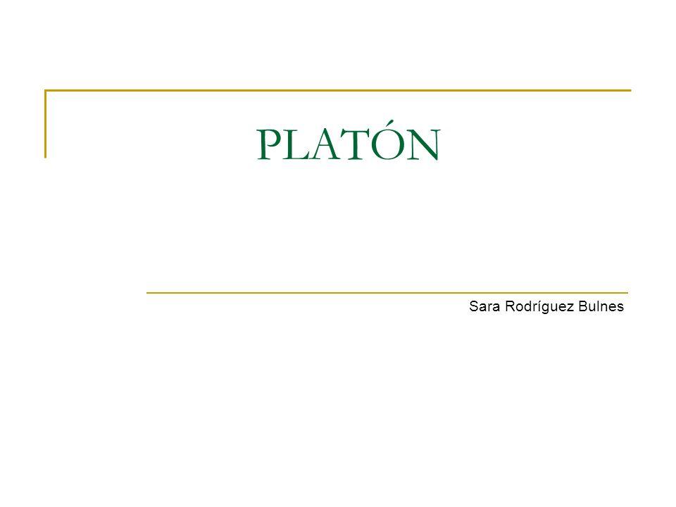 Índice Biografía Obra Ontología de Platón Epistemología de Platón Política y ética de Platón