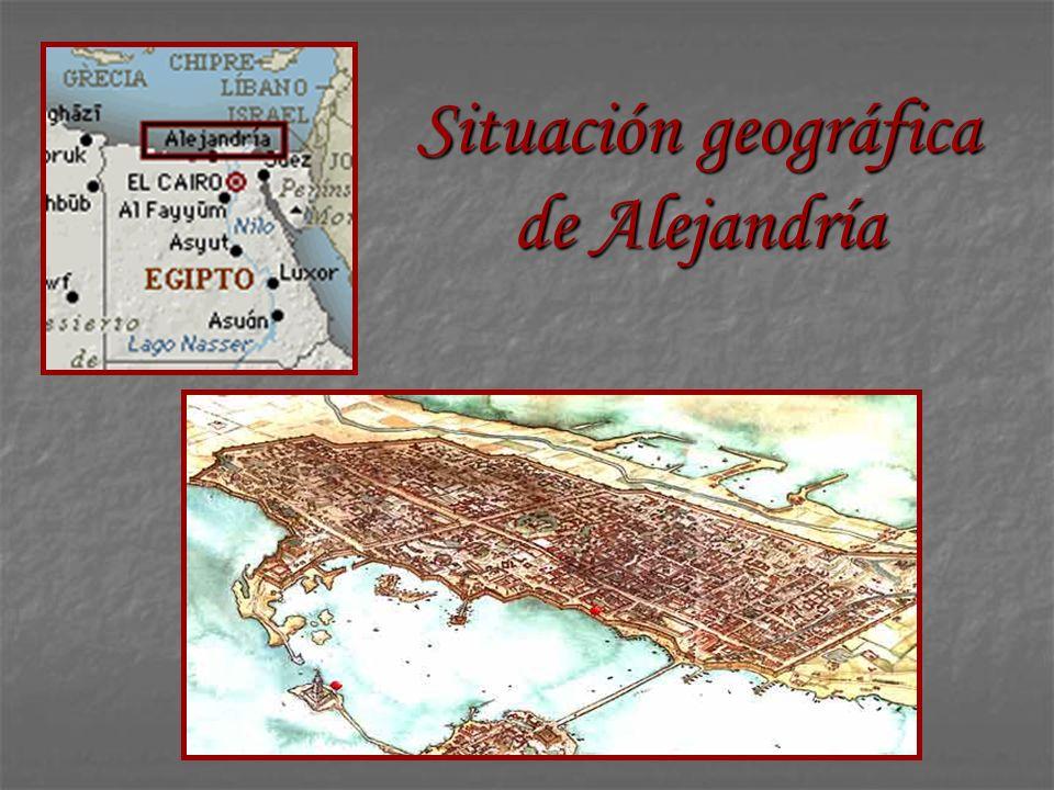 Situación geográfica de Alejandría