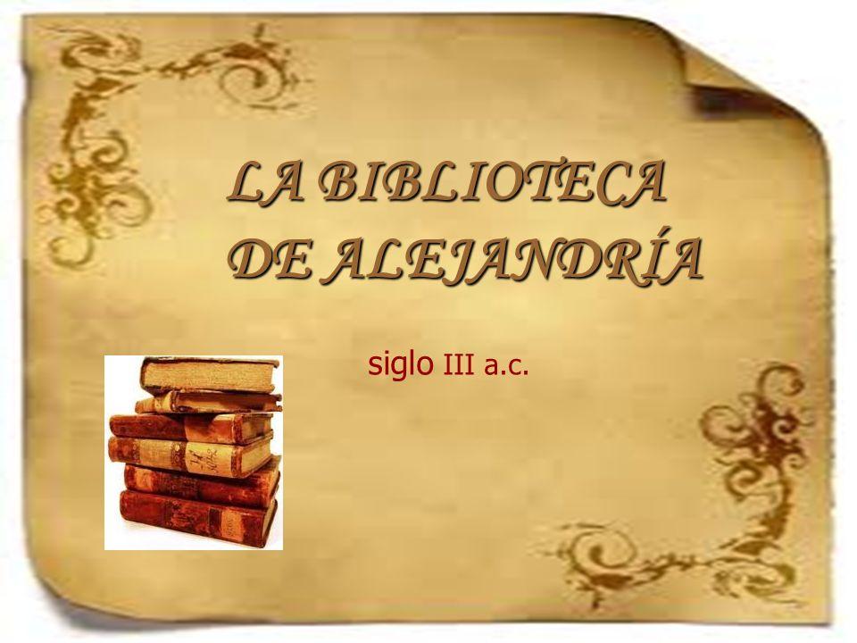 Reconstrucción de la biblioteca de Alejandría en la película Ágora de Amenabar.