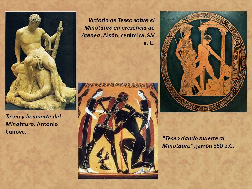 Teseo y la muerte del Minotauro. Antonio Canova.