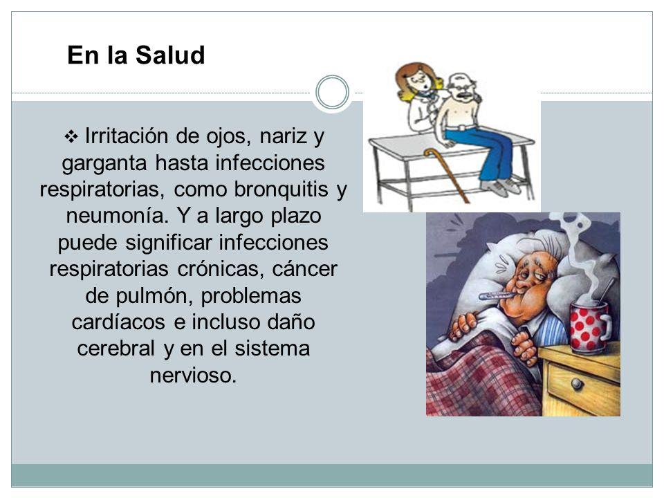 Ha aumentado el número de personas asmáticas en Lima, muchos jóvenes de nuestra generación sufren de gastritis, las personas tomamos más medicamentos