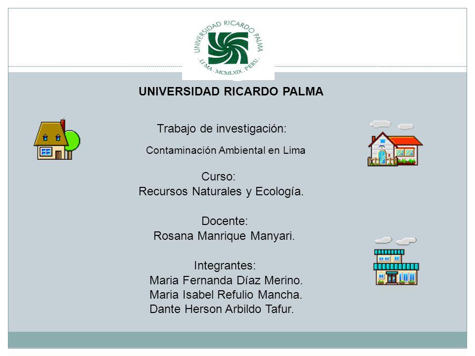 Contaminación Ambiental en Lima