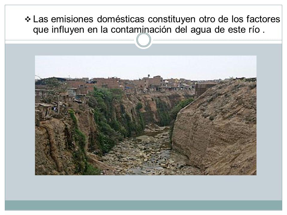 Un problema muy grave en nuestra ciudad es la irresponsable contaminación del río Rímac. Este se abastece a la mayoría de la población limeña y es por