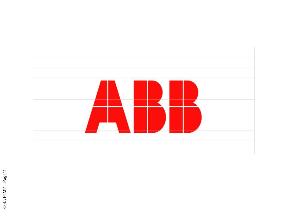 ABB PTMV Poland © BA PTMV – Page41