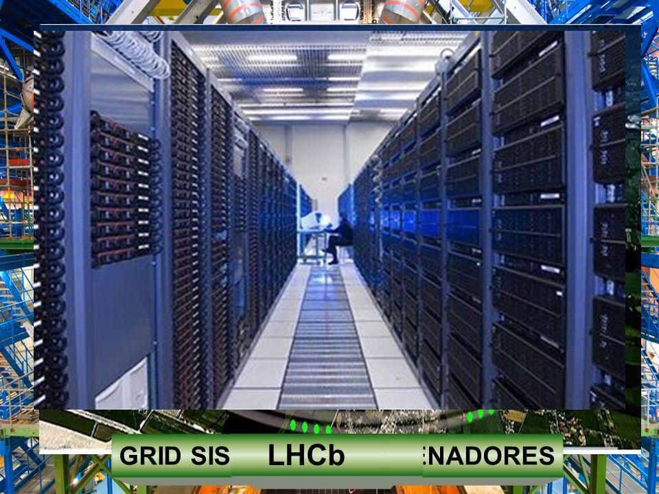 ESTACIONES DETECTORAS LOS HACES DE PARTÍCULAS ACELERADAS EN EL LHC CHOCAN EN LAS UNIDADES DETECTORAS Y ASÍ LAS NUEVAS PARTÍCULAS SON VISIBLES A TRAVÉS