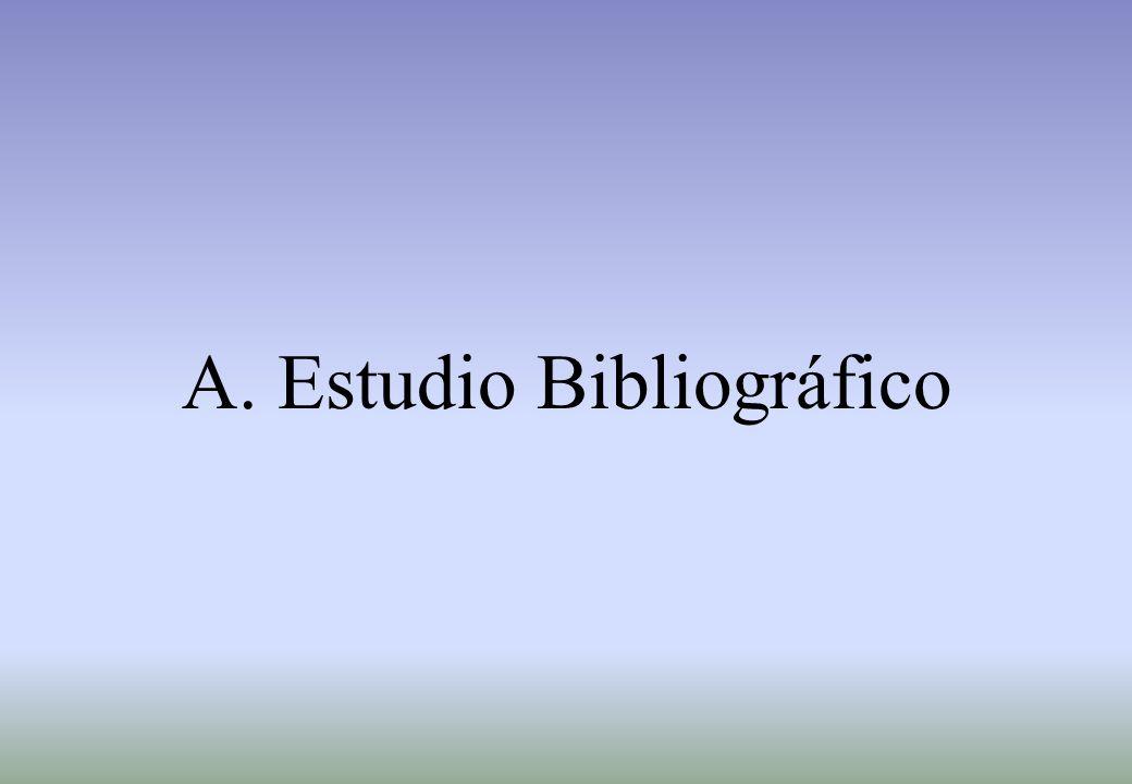 A. Estudio Bibliográfico