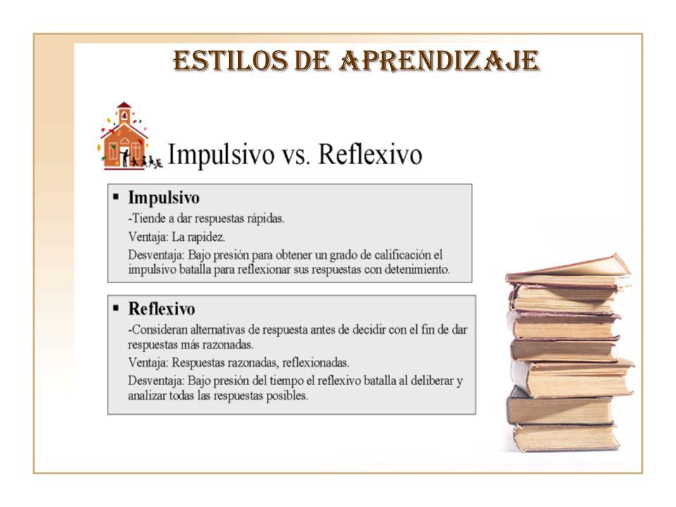 Estilo de aprendizaje Habilidades predomina ntes Puntos fuertes en la solución de problemas CaracterísticasÉnfasis Activo (Divergente) Experiencia concreta y observació n reflexiva.