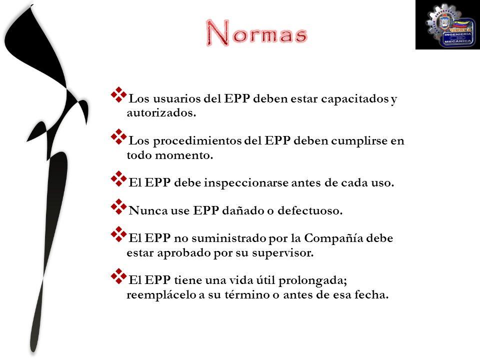 El EPP se lo conoce como la última línea de defensa contra las lesiones.
