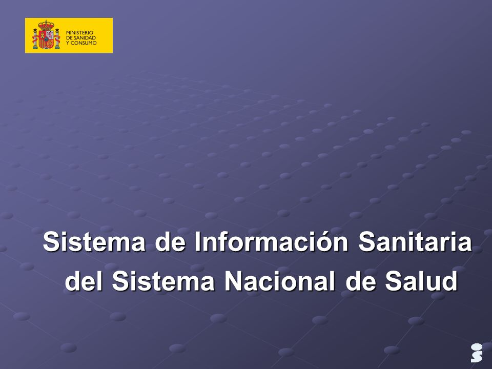 Comunicaciones entre Agentes Intranet SNS Servidor web Servidor aplicaciones Servidor BBDD PROVEEDORES MINISTERIO SANIDAD CC.AA.
