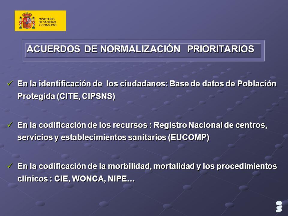 En la identificación de los ciudadanos: Base de datos de Población Protegida (CITE, CIPSNS) En la identificación de los ciudadanos: Base de datos de P