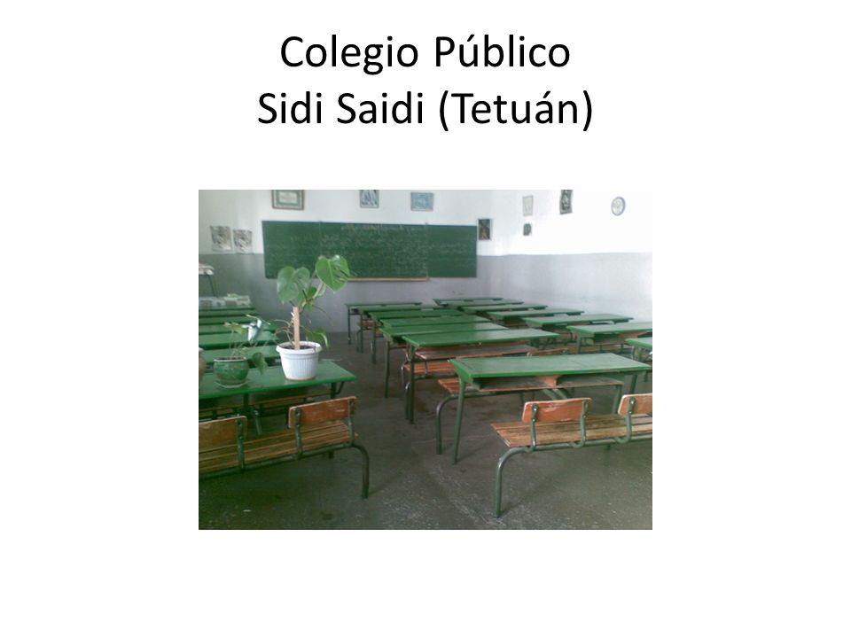 Biblioteca del centro. Este es un centro de primaria con unos 700 alumnos.